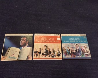 3 Tennessee Ernie Ford Gospel Records