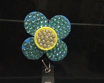 Flower Badge Holders!