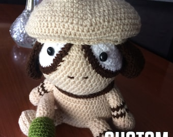 Custom plush amigurumi
