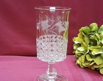 Antique EAPG 1880s Victorian Celery Vase, Ripley & Co. Mascotte Pattern, Elegant Dining Buffet Centerpiece, Decor, TV Movie Prop