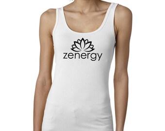 zen, Yoga Tank Top, Yoga shirt, Tank top, Namaste tank, Namaste shirt, Namaste, #LT16