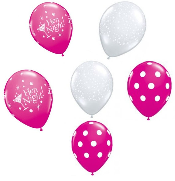 Hen Party Decorations Pink Balloon Set Hen Gift For Her