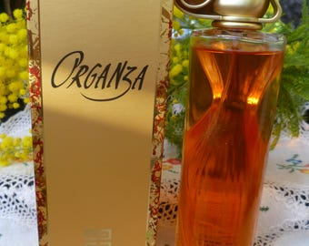 ORGANZA GIVENCHY perfume almost full 100ml perfume with box