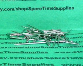 """T-Pins - 1 1/4"""" (32mm) - silver - 35 pcs - Fibre Craft - #4970"""