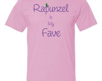 Rapunzel is my fave shirt | Disney shirt | Rapuzel Shirt | Pascal shirt | Disney t-shirts