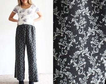 Vintage Printed Bell Bottoms Flare Pants Culotte Culottes Trousers Dress Pants Harem Pants Wide Leg Pants Sweatpants Comfy Stretchy
