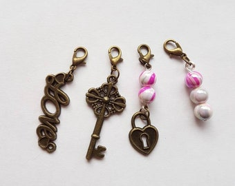 4 love crochet stitch markers