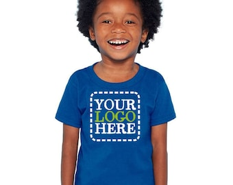 Custom TODDLER T-Shirts SIZE 2T - 5/6T  Add Your Logo or Text