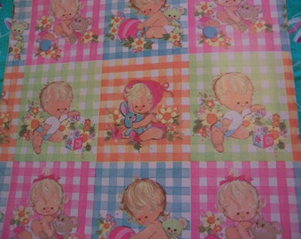 sweet pastels and babies wrapping paper