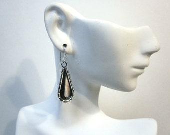 Bella's Sterling Raindrop Earrings