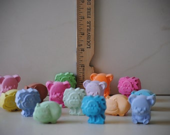 Zoo safari animals sidewalk chalk 15 pieces