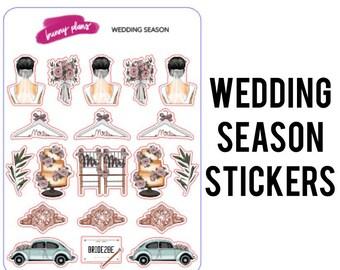 Wedding Season Planner Stickers | Elle doll, fashion girl, bride