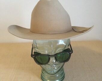 Vintage Stetson Felt Cowboy Hat - Size 7 - beautiful