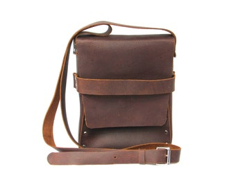 Leather Purse, CrossBody Purse, Leather Handbag, Brown Leather Purse, Shoulder Bag, Brown Leather Bag.