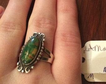 Lovely Manassa turquoise ring