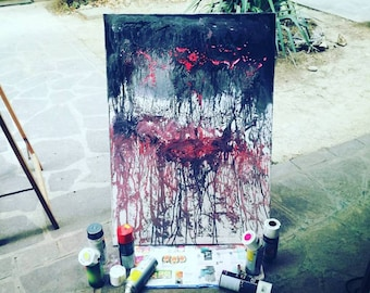 """Despair"" Picture: paint on canvas"
