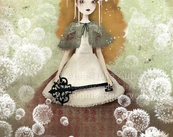 Mori - Deluxe Edition Print - Whimsical Art