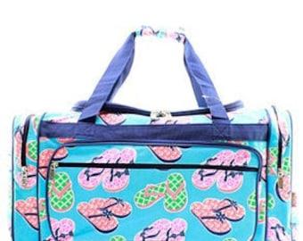 Personalized Duffle Bag, Duffle Bag, Large duffle bag, Monogrammed Duffle Bag, Duffle,flip flop duffle, Weekender duffle bag, Luggage