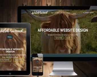Portfolio Website Design for Photographers
