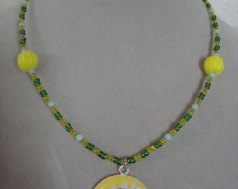 Fairy girl necklace