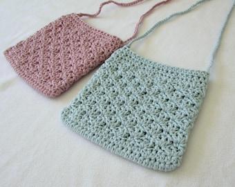 Crochet Shell Stitch Purse Written Pattern