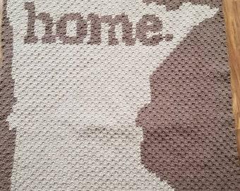 Crocheted Minnesota HOME graphgan.