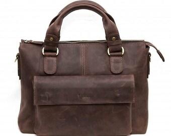 Leather mens bag, Leather messenger bag, leather satchel, leather laptop bag,  leather handbag,  mens bag, Shoulder Bag