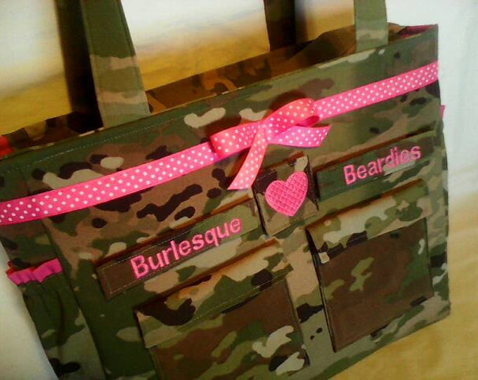 OCP Scorpion diaper baby bag gift for her gift for him custom embroidered names or words choice of colors trims