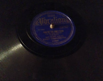 Antique Phonograph You're My Only Star (In My Blue Heaven) by Gene Autry