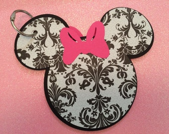 Minnie Mouse Inspired Autograph/Activity Book