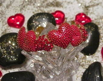 """Heart Bracelet """" In Love with Red"""""""