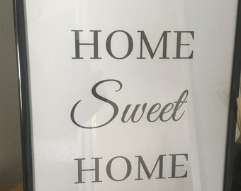HOME SWEET HOME Print Only