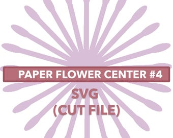 Flower Center #4 SVG File