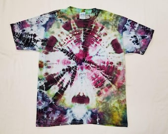 Funky Tie Dye Youth T-shirt size Extra Large W456