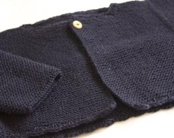 Patrón chaqueta manga lateral 12 meses en español