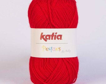 Easter from Katia 84911 red wool