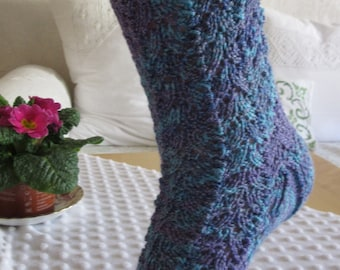 Hand Knitted socks Gr. 39-42