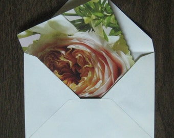 Reclaimed paper - set of 12 greeting cards