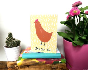 SALE: Mother Hen card cc187