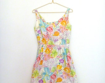 Perfect floral summer dress 90s