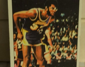 1976-77 Topps Basketball Kareem Abdul-Jabbar All Star. Great shape. Good Color