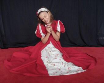 Princess 8/10 years dress