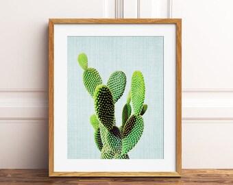 Cactus Print, Cactus Decor, Desert Print, Cactus Wall Art, Desert Plants, Cacti, Nature Print, Modern Wall Art, Home Decor, Printable Art