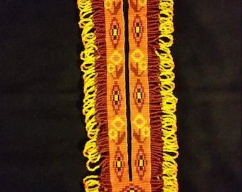 Beaded Navajo Turtle Necklace