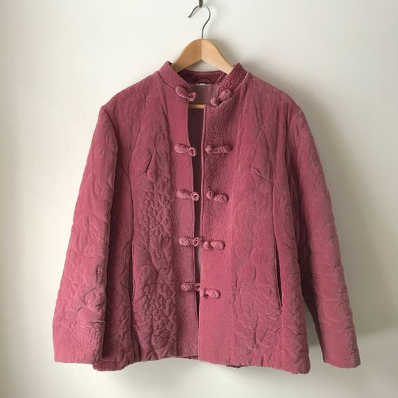 vintage 80's McDonald's jacket, quilted lining, legit! New Haven CT, L