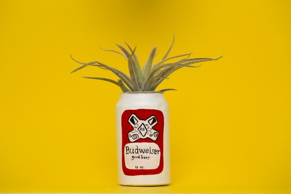 BUDWEISER CAN PLANTER
