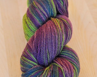 KAUNI Wool Yarn, 2ply, Self-Striping Africa EA