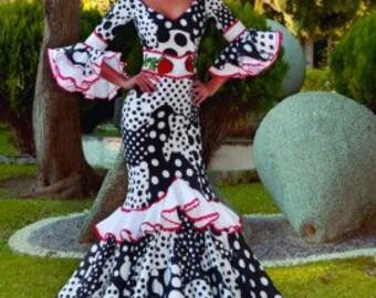 Lady's FLAMENCO dress