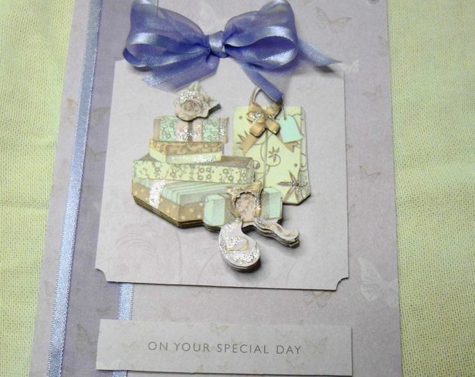 Handmade Greeting Card, Female, Any Occasion, Birthday Card, Mum, Daughter, Sister, Niece, Aunt, Friend