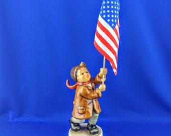 Signed - A Call To Glory Hummel Figurine
